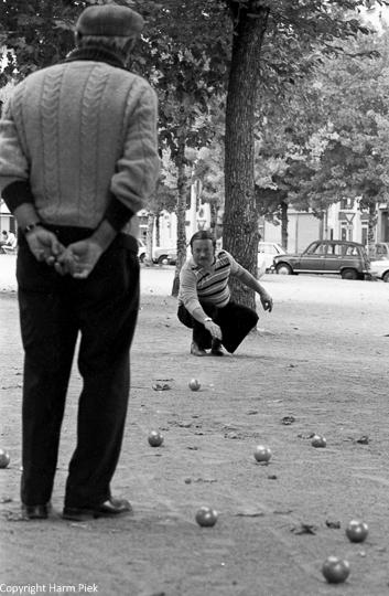 Petangue, Lyon, 1977