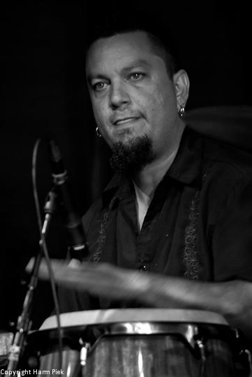 Percussionist, Haarlem Jazz, 2011